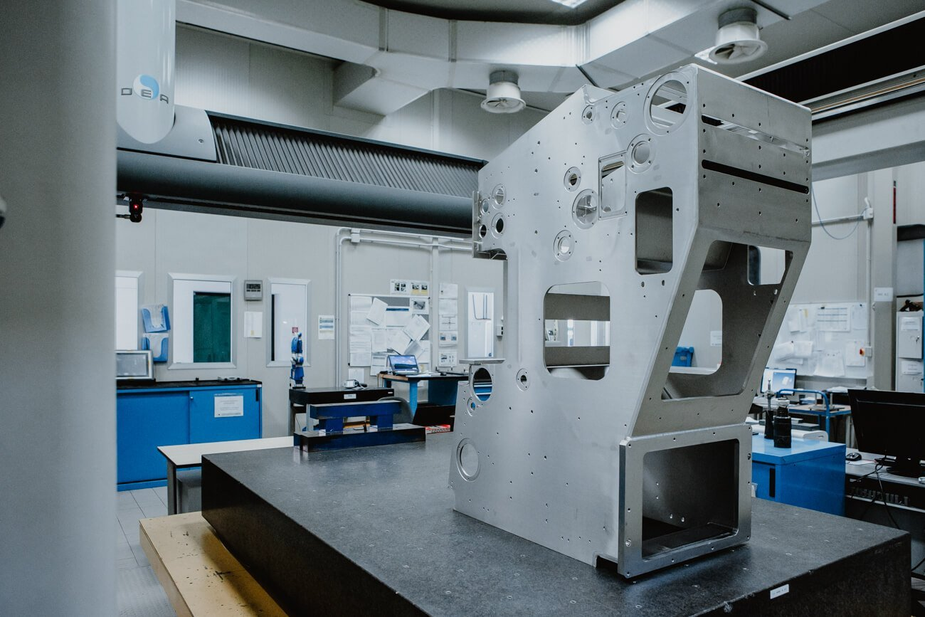 Zeiss / DEA metrology room