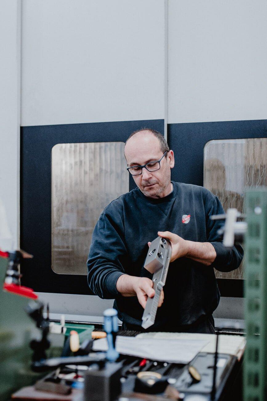 Produzione di macchine industriali