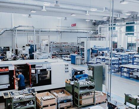 Produzione di macchine industriali Modena